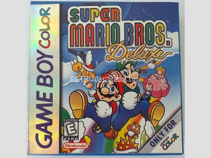 CARTUCHO PARA GAMEBOY COLOR - SUPER MARIO BROS DELUXE 1