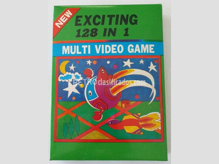 MULTI VIDEO GAME. 128 JUEGOS DIFERENTES EN UN SOLO CARTUCHO. 1