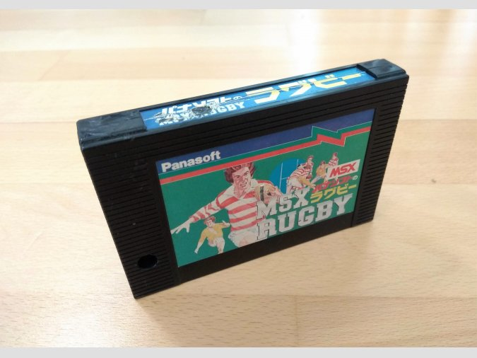 Juego MSX Rugby Panasoft 1985