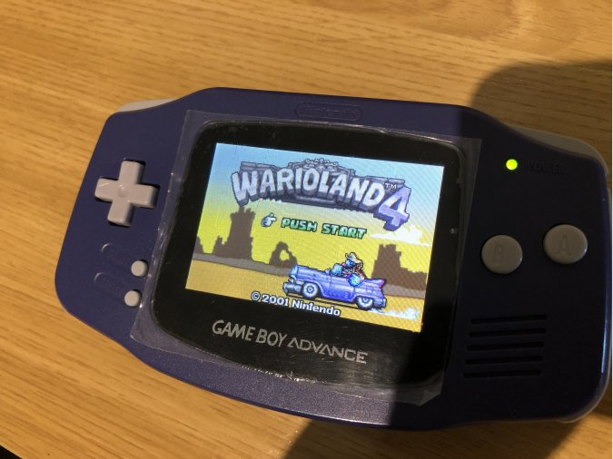 GAME BOY ADVANCE BACKLIGHT CON PANTALLA AGS-101