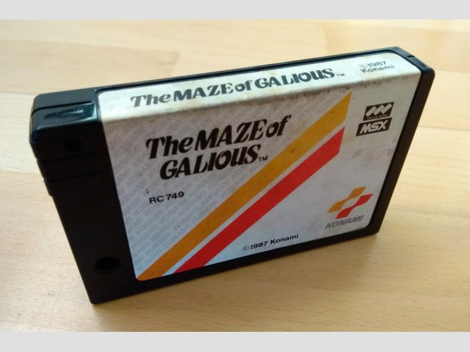 Juego The Maze Of Galious Konami 1987