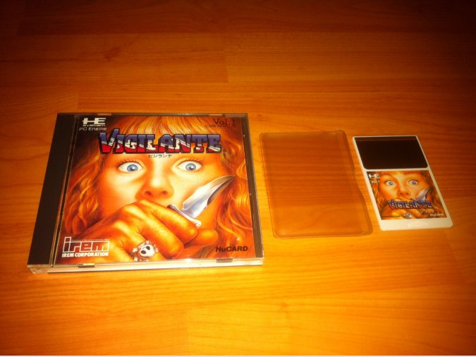 Vigilante Juego Original PC-ENGINE
