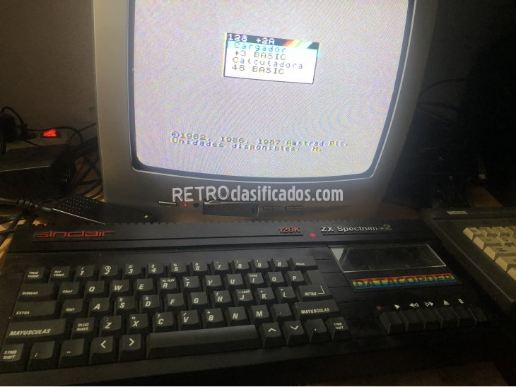 Spectrum sinclair plus 2 con juegos 1