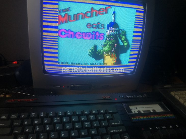 Spectrum sinclair plus 2 con juegos 3