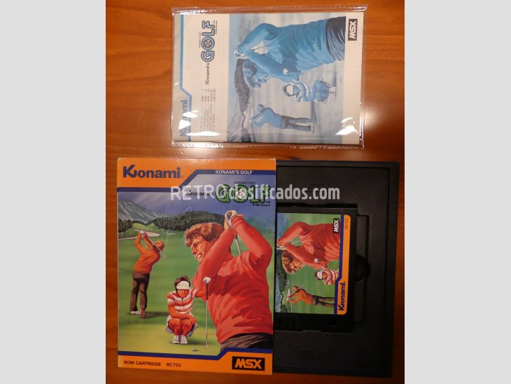 GOLF de Konami RC723 1