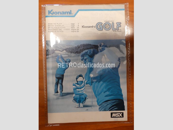 GOLF de Konami RC723 3