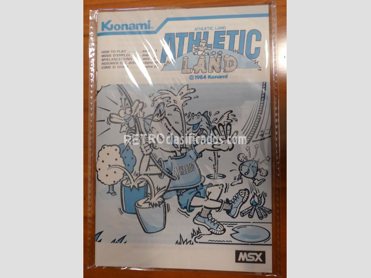 ATHLETIC LAND de Konami RC700 3