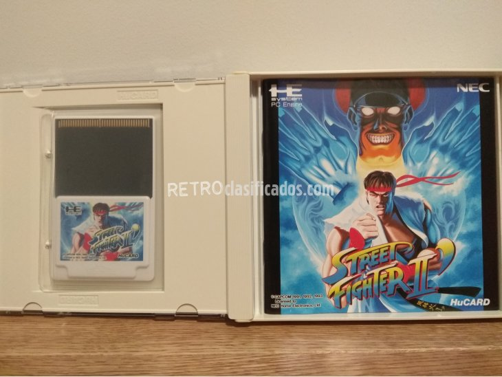 Street Fighter II Champion Edition. PC-Engine 2