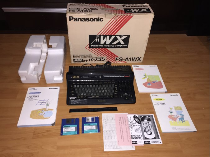 MSX2+ Panasonic FS-A1WX System Computer Boxed