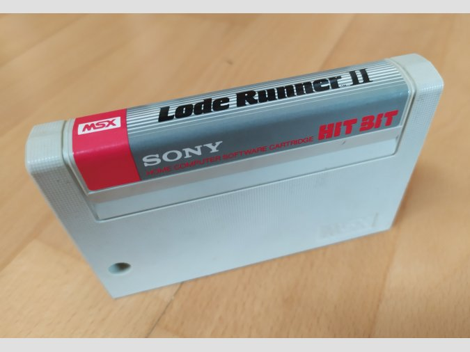 Juego MSX Lode Runner 2 Sony 1985