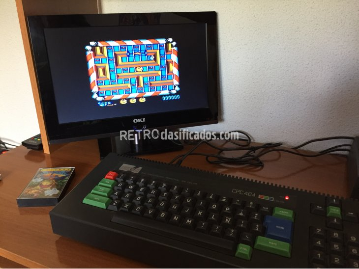 Mad Mix Game juego original Amstrad 3
