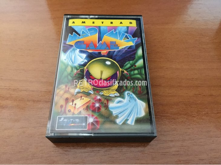 Mad Mix Game juego original Amstrad 4