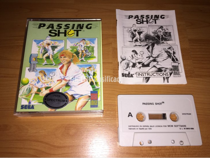 Passing  Shot juego original Spectrum 1
