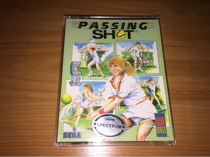 Passing  Shot juego original Spectrum 4