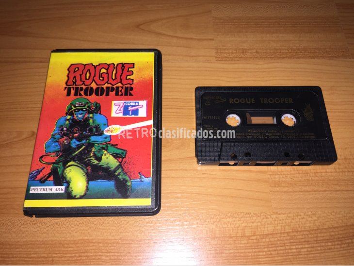 Rogue Trooper juego original Spectrum 1