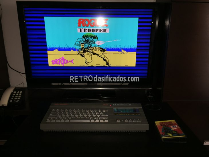 Rogue Trooper juego original Spectrum 2
