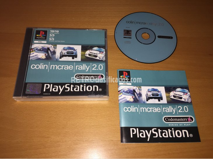 Colin Mcrae Rally 2.0 juego original Play Station 1