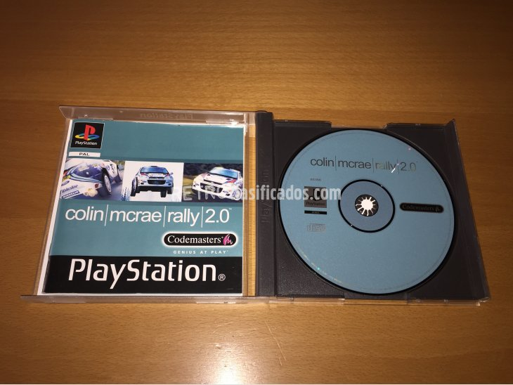 Colin Mcrae Rally 2.0 juego original Play Station 2