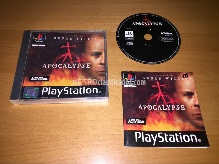 Apocalypse juego original Play Station 1