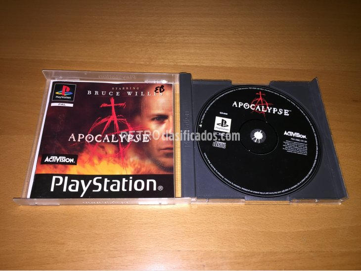 Apocalypse juego original Play Station 2