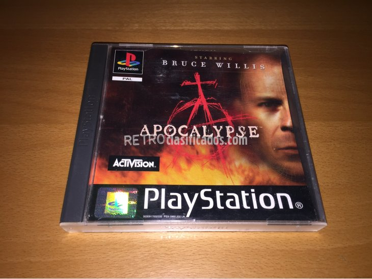 Apocalypse juego original Play Station 3