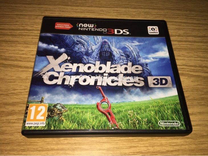 Xenoblade Chronicles 3D 1