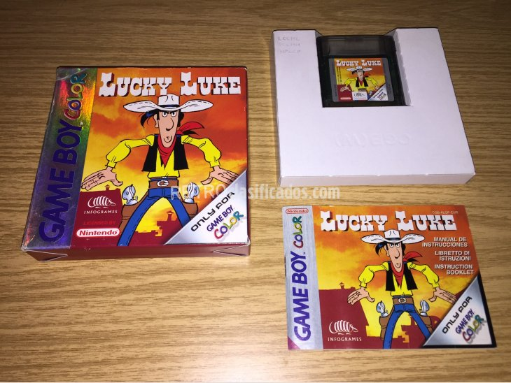 Lucky Luke Game Boy Color 1