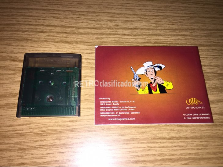 Lucky Luke Game Boy Color 2