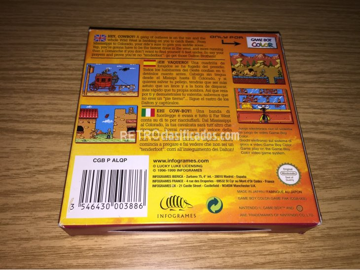 Lucky Luke Game Boy Color 4