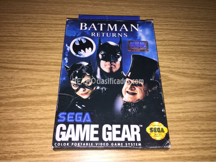 Batman Returns Game Gear 2