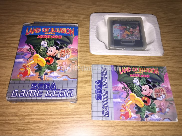 Land of Illusion Game Gear 1