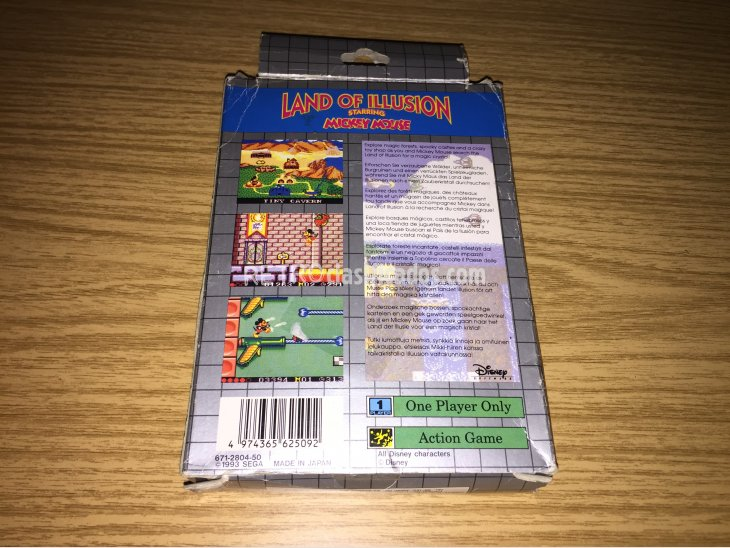 Land of Illusion Game Gear 4
