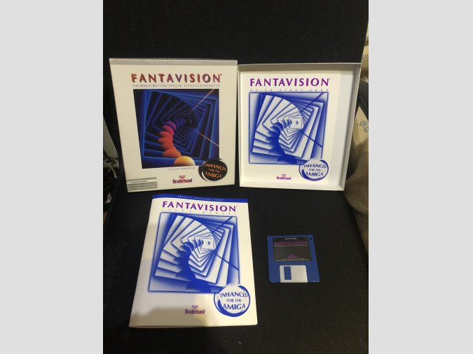 Software Commodore Amiga Fantavision
