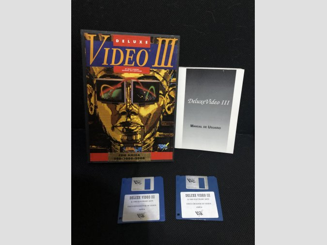 Software Commodore Amiga Deluxe video 3