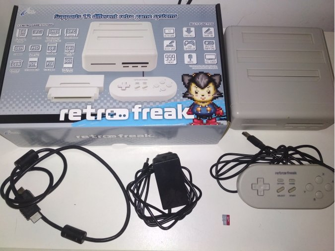 Retro freak 12 en 1 original