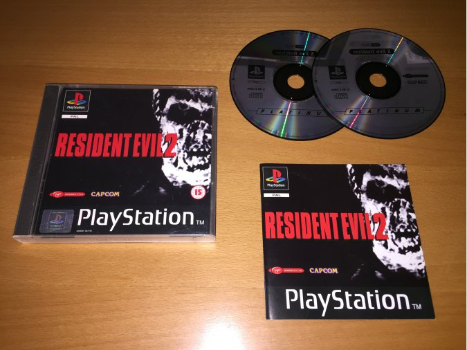 Resident Evil 2 juego original PlayStation