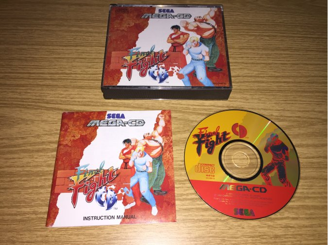 Final Fight CD Mega-CD