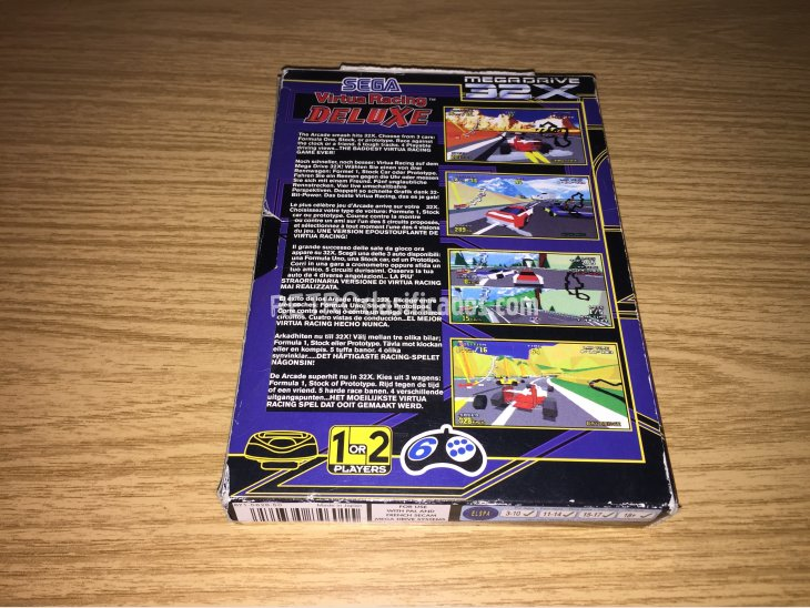 Virtua Racing Deluxe Sega 32X 4