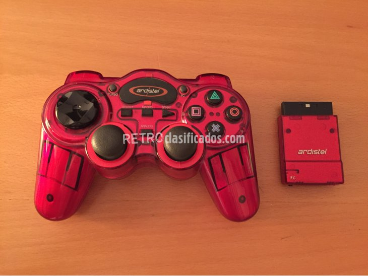 Mando inalambrico compatible PS1 y PS2 1