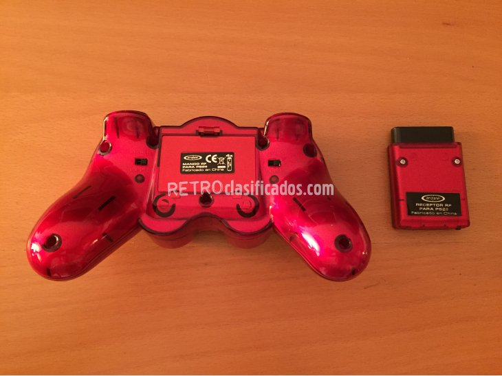 Mando inalambrico compatible PS1 y PS2 2