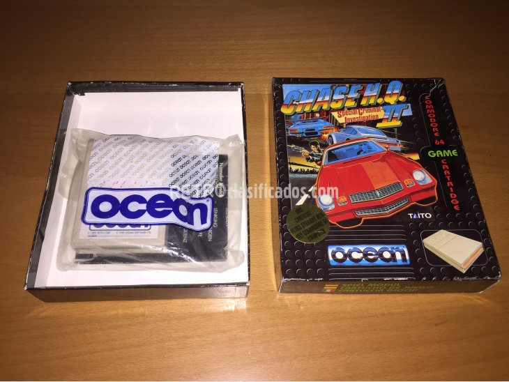 Chase HQ 2 juego original Commodore 64 2