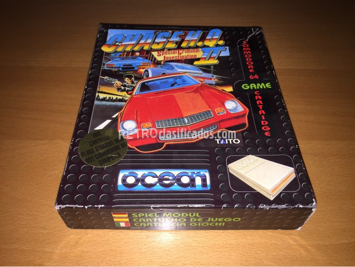 Chase HQ 2 juego original Commodore 64 3