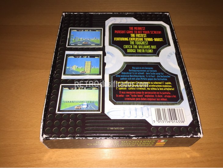 Chase HQ 2 juego original Commodore 64 4