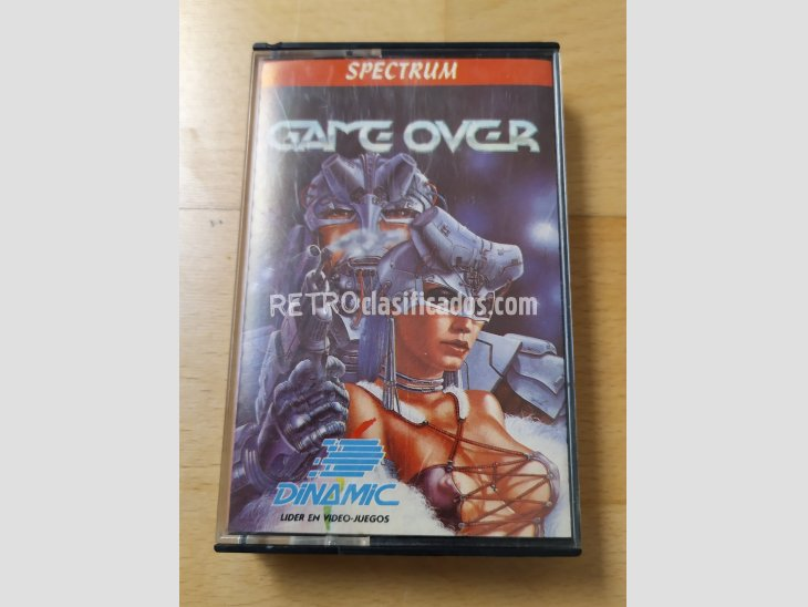 Juego Spectrum Game Over Dinamic 1