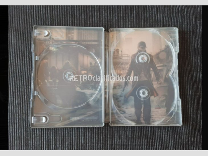 Steelbook Watchdogs 4
