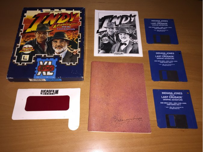 Indiana Jones and The Last Crusade Amiga