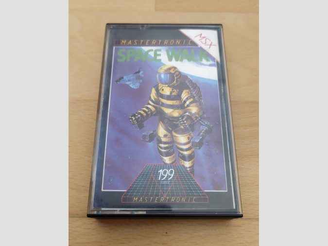 Juego MSX Space Walk Mastertronic