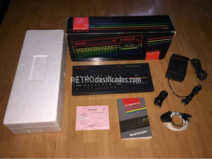 ZX Spectrum +2A 128K Computer System Boxed 1