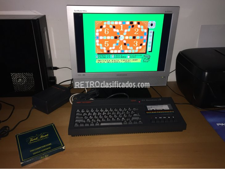 ZX Spectrum +2A 128K Computer System Boxed 3