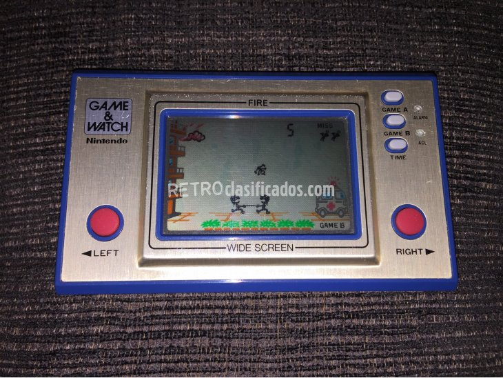 Game & Watch Nintendo FIRE 2